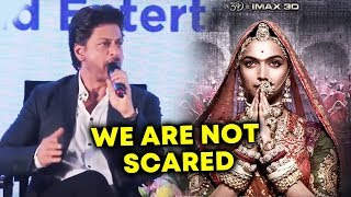 ShahRukh Khan speaks Up On Why Bollywood Was Silent During Padmaavat