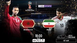 MOROCCO vs IRAN ▪ World Cup 2018 ▪ Football Live Score