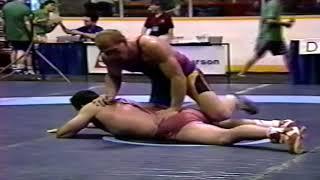1993 Senior World Championships: 130 kg Murabi Valiev (UKR) vs. Andreas Schroeder (GER)