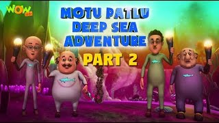Motu Patlu Deep Sea Adventure Part 02- Movie| Movie Mania - 1 Movie Everyday | Wowkidz
