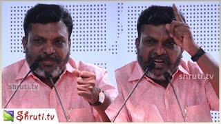 Thol. Thirumavalavan latest speech   தொல். திருமாவளவன் சிறப்புரை