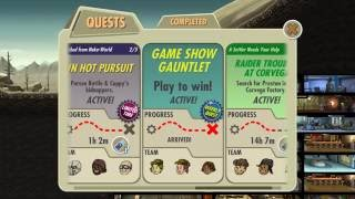 Fallout Shelter Game Show Gauntlet