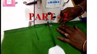 LATEST simple BLOUSE CUTTING AND STITCHING PART-2