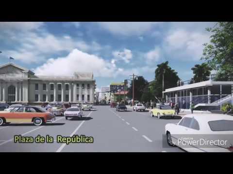 Managua Nicaragua antes del terremoto de 1972