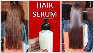 I used this homemade hair serum for 10 days and see the results- Silky shiny soft hair