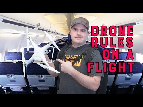 Travel with a Drone Airline battery rules and TSA hacks