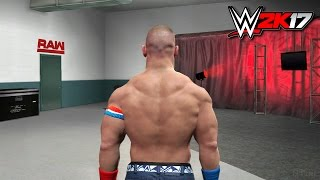 WWE 2K17 Road To Wrestlemania PS4/XB1 Gameplay Notion/Concept
