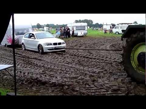 Wacken 2012 W.O.A Traktoren Schlamm,Sonntag,Abreise