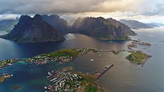 Beautiful Lofoten (Norway / Arctic Circle) AERIAL DRONE 4K VIDEO