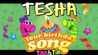 Tina&Tin Happy Birthday TESHA