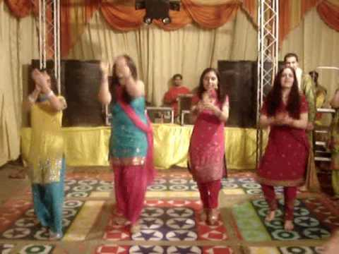 mehndi night performance at sankalp n shefali s wedding