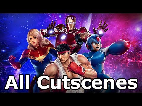 Marvel Vs Capcom Infinite - All Cutscenes (Game Movie)