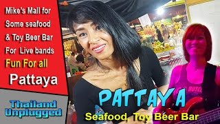 Pattaya Thailand Seafood and Play time