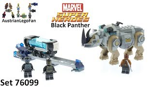 Lego Super Heroes 76099 Rhino Face-Off by the Mine - Lego Speed Build Review