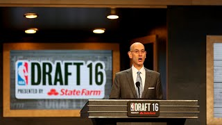 2016 NBA Draft Full First Round - NBA 2K16 MyLeague Mode - 2017 Full Roster And Ratings [Mock Draft]