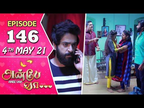 Anbe Vaa Serial Episode 146 4th May 2021 Virat Delna Davis Saregama TV Shows Tamil