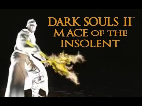 Dark Souls 2 Mace of the Insolent Tutorial (dual wielding w/ power stance)