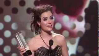 Sasha Grey winning the 2010 AVN Crossover Star of the Year Award