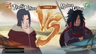 NARUTO SHIPPUDEN: Ultimate Ninja STORM 4 Gameplay itachi vs madara