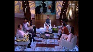 هنا العاصمة | لميس الحديدي تسأل نجوم هذا المساء : إية المسلسلات اللي تبعتوها في رمضان
