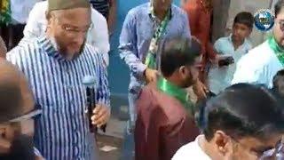 Asaduddin Owaisi Door to Door Election Campaign under Malakpet Assembly Constituency | Overseas News