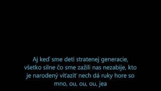 Rytmus feat Ego- Deti stratenej generacie (TEXT)