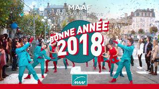 MAAF vous souhaite une excellente année 2018 !