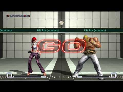 KC3 Presents King Of Fighters XIV Patch 2.00 Vanessa Trials