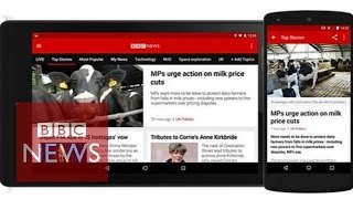 BBC News app: Hands-on with the
