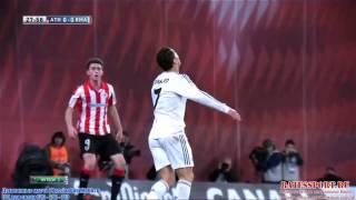 Cristiano Ronaldo fail Voley vs Athletico bilbao