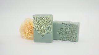 渲染好好玩-蕾絲壓花手工皂 Lace Soap