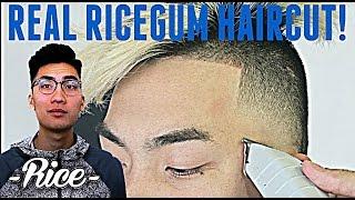 BARBER TUTORIAL : RICEGUM HAIRCUT HD ! | Ft. Ricegum