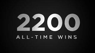 2,200 All-Time Wins // Kansas Basketball // 1.7.17