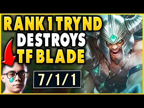 Xxx Mp4 1 TRYNDAMERE WORLD DESTROYS TF BLADE IN HIGHELO ABSOLUTE STOMP League Of Legends 3gp Sex
