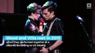 Evan Rachel Wood is engaged to her bandmate Zach Villa