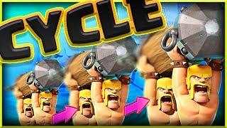 This CYCLE DECK works! • Clash Royale Battle Ram Deck!