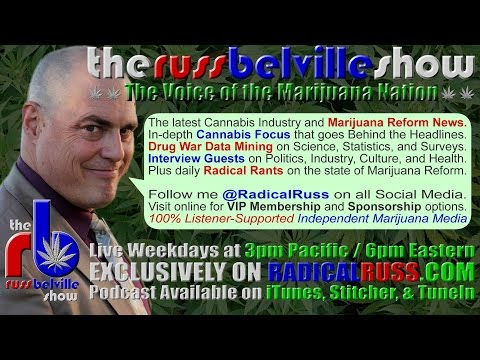 The Russ Belville Show 897 Jeff Sessions Latest Comments Confirm That War on Pot Is Coming