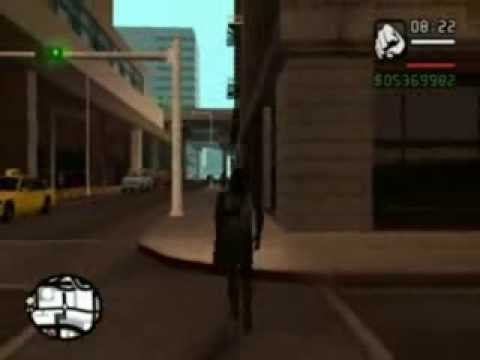 GTA San Andreas con Spiderman Vegeta y Dark Vader