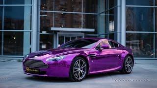 Dudak Uçuklatan Chrome Aston Martin Vantage V8 ( Ferrari F430 Detay) GMG Garage
