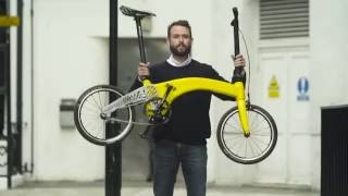 Hummingbird: The Lightest Folding Bike in the World