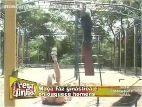 Pegadinha Gostosa na ginastica