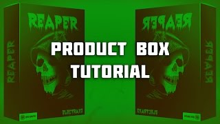How To Make A Product Box In Photoshop (The Pro Way) #NPLB