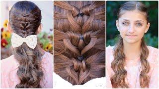Mermaid Heart Braid | Valentine's Day Hairstyles