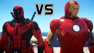 DEADPOOL VS IRON MAN - EPIC BATTLE