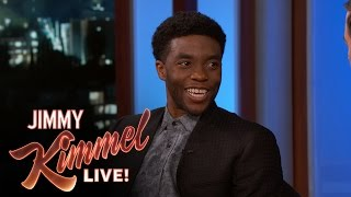 How Chadwick Boseman Created His Black Panther Accent