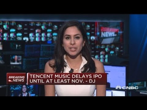 Xxx Mp4 Tencent Music Delays IPO Due To Market Conditions Dow Jones 3gp Sex
