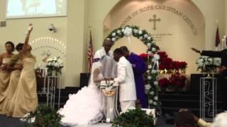 Pastor Johnny Brown Wedding Prayer