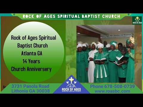 Rock of Ages Spiritual Baptist Church Atlanta GA