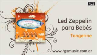 Led Zeppelin para Bebés - Tangerine
