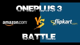 Amazon Flipkart ONEPLUS 3 siyappa !!!